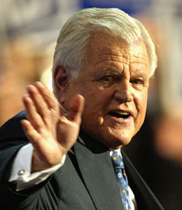 Sen. Ted Kennedy lived a life of power and prestige -- and clearly had a fortune to match.