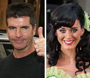Simon Cowell likes the 'feisty' Katy Perry