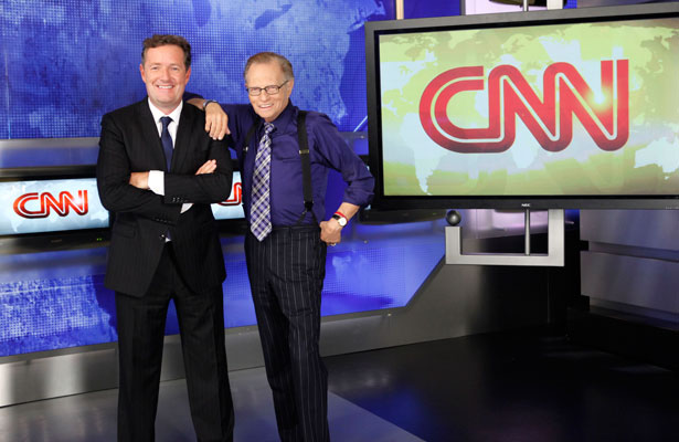 piers morgan and larry king