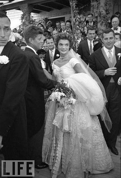 jackie o kennedy wedding day