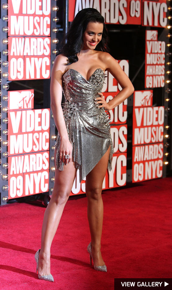 Katy Perry at the MTV VMAs