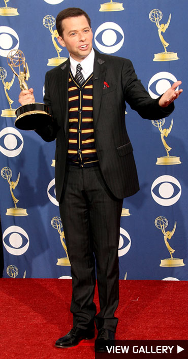 Jon Cryer at the Emmy Awards
