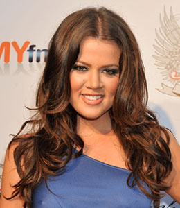 Khloe Kardashian gets ready for her wedding