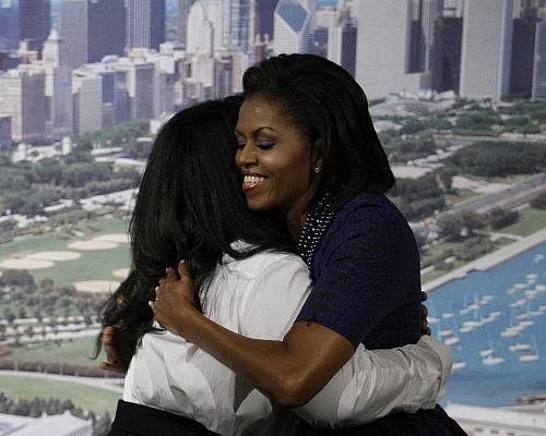 oprah michelle obama olympics chicago 2016