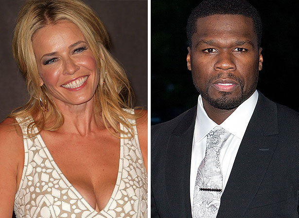 chelsea handler and 50 cent still dating