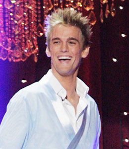 Aaron Carter -- Not Discouraged on Dancing with the Stars