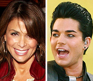 paula abdul adam lambert american music awards