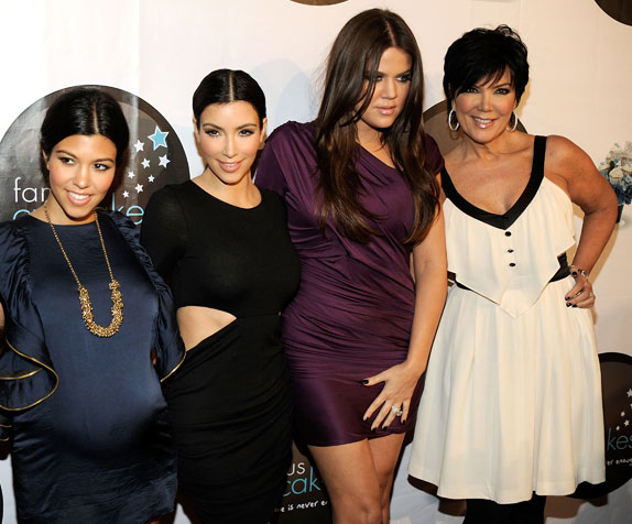 Newlywed Khloe Kardashian joined her sisters and mom for the launch of Famous Cupcakes in Beverly Hills