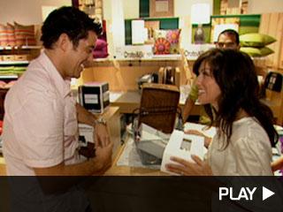 Jillian and Ed Shopping Spree