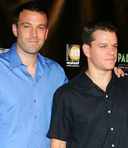 Pals Matt Damon and Ben Affleck are Related