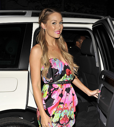 lauren conrad the hills hollywood style awards