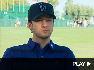 Justin Timberlake talks about Facebook movie