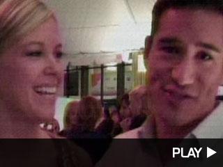 Mario Lopez Meets Kate Gosselin