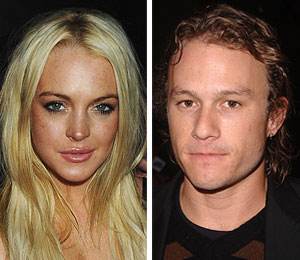 lindsay lohan heath ledger