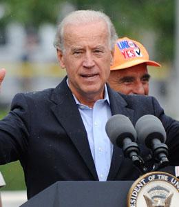 Joe Biden not harmed in motorcade accident