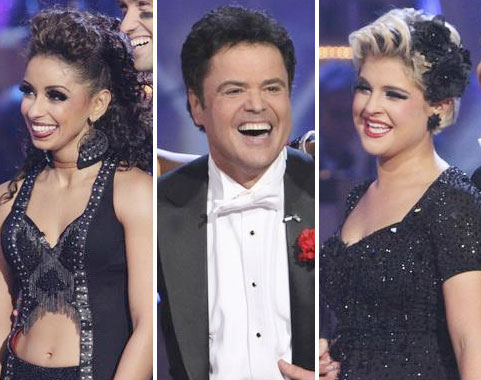 Mya, Donny and Kelly are competing for the mirrored ball trophy on Dancing with the Stars -- Who will win?