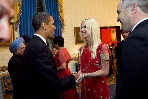 president obama party crasher