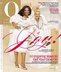 Ellen DeGeneres Oprah Winfrey O Magazine cover