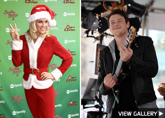 stars in the holiday spirit in our photo gallery