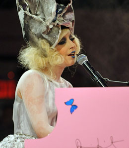 Lady Gaga is New Year's Eve's hottest ticket