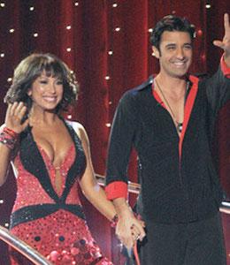 Gilles Marini and Cheryl Berke on Dancing with the Stars