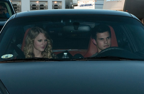 Taylor Swift and Taylor Lautner together again