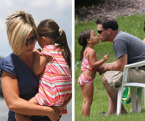 Jon and Kate Gosselin with their kids