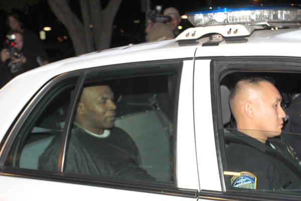 Mike Tyson arrested after punching photographer