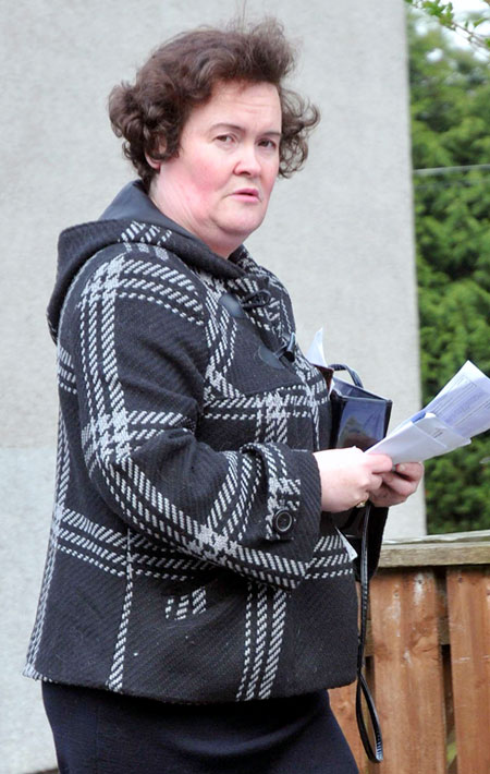 Susan Boyle cursed out strangers in London
