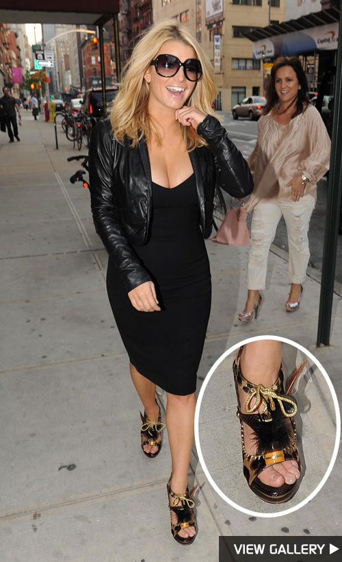 Jessica Simpson spotted in New York City