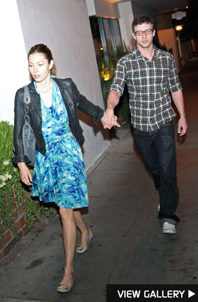 Jessica Biel and Justin Timberlake spotted together