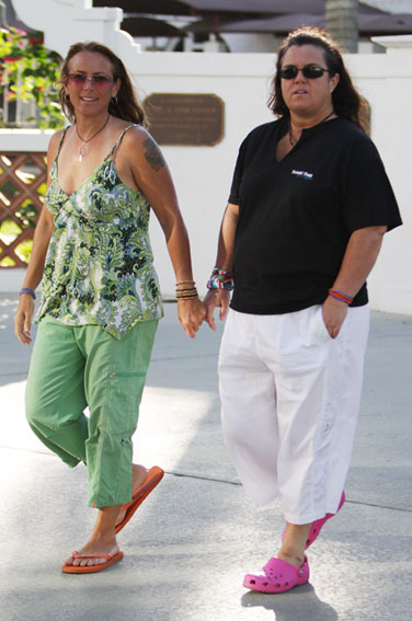 Rosie O'Donnell spotted holding hands with Tracy Kachtick-Anders