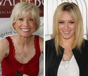 dr. laura and hilary duff