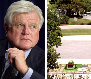 ted kennedy to be buried at arlington