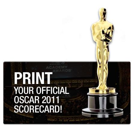 oscar scorecard